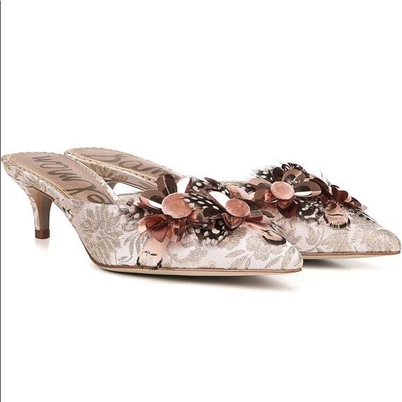 Nwot Dorcy Pink Mule Kitten Heels